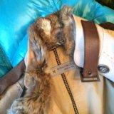 Куртка италия кожа мех шерсть. Фото 3. Москва.