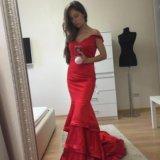 Платье новое вечернее красное jovani. Фото 1. Москва.