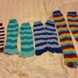 Носки  и  с пальцами. Фото 1.