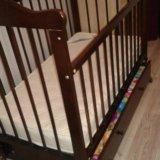 Детская кроватка+матрас. Фото 2. Юрга.