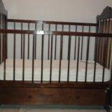 Детская кроватка+матрас. Фото 3. Юрга.