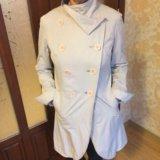 Молочные плащ и куртка бу на стройную женщину. Фото 3. Кемерово.