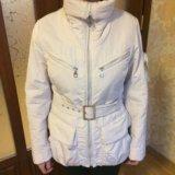 Молочные плащ и куртка бу на стройную женщину. Фото 2. Кемерово.