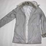 Куртка+меховая жилетка воротник манжетки. Фото 1. Сургут.