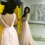 Платье новое розовое вечернее. Фото 1. Москва.
