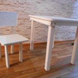 Стол и стульчик. Фото 1.