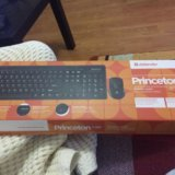 Беспроводные клавиатур+мышь. Фото 2.