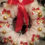 Новогодние и рождественские веночки. Фото 3.