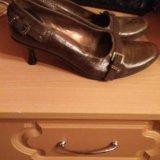 Кожаные туфли. Фото 2. Санкт-Петербург.