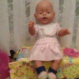 Кукла baby born  + одежда в хорошем состоянии. Фото 1.