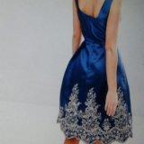 Вечернее платье миди 42-44р. chi chi london. Фото 2.