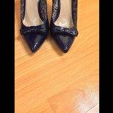 Синие лаковые туфли. Фото 3. Железнодорожный.