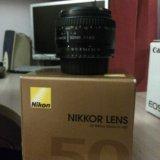 Nikon 50mm (ручной фокус). Фото 1.
