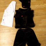 Новогодний костюм медведя на 3-4 года. Фото 1. Подольск.