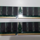 Память kit 2х512 mb ddr400 kingston kvr400x64c3ak2. Фото 2.