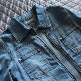 Новая джинсовая куртка 42. Фото 2.