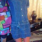 Платье джинсовка. Фото 1. Уфа.