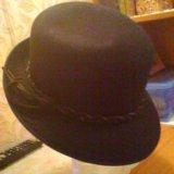 Шляпа женская щелковский фетр. Фото 1.