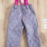 Новые утеплённые брюки, размер 3-4 года. Фото 1. Самара.