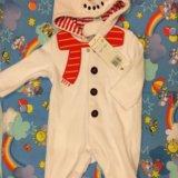 Косюм снеговик. Фото 1.