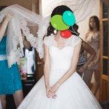 Срочно! свадебное платье 40 размер!. Фото 4. Саратов.