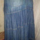 Джинсовая юбка. Фото 4.