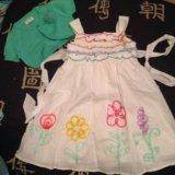 Новое праздничное платье с болероchildren's place. Фото 1.