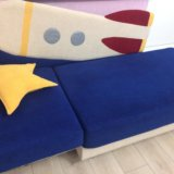 Детский диван ракета. Фото 1.