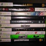 Xbox 360 slim 250 gb + 3 геймпада и штук 30 игр. Фото 3. Москва.