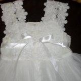 Новогоднее платье для принцессы. Фото 2.