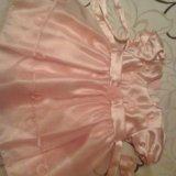 Платье , цвет персик. Фото 2. Сургут.