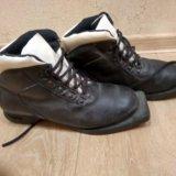 Ботинки лыжные кожаные. Фото 1. Тольятти.
