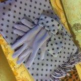Шарф и перчатки. Фото 1. Кострома.
