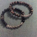 Именные браслеты из натуральных камней. Фото 2.