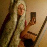 Волкошапка (шапка волк) оригинал. Фото 1.