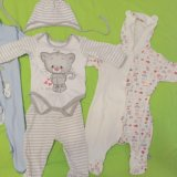 Пакет одежды для новорожденного. Фото 4.