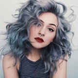 Седая (серая) краска для волос. Фото 3.