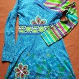 Нарядное платье для девочки, 7-8 лет. Фото 1. Химки.