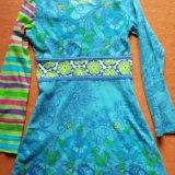Нарядное платье для девочки, 7-8 лет. Фото 2. Химки.