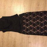 Вечерний топ и кружевная юбка. Фото 2.
