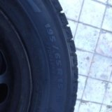 Michelin x-ice 195/65r15. Фото 1.