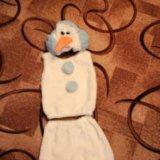 Детский новогодний костюм снеговика. Фото 1.