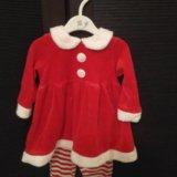 Новогодний костюм для девочки. Фото 1.