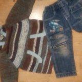 Джинсы и свитер. Фото 1. Вологда.
