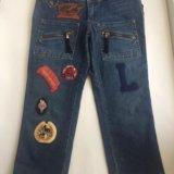 Укорочённые джинсы-бриджи. Фото 1. Ростов-на-Дону.
