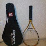 Ракетка для большого тенниса с чехлом. Фото 1.