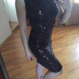 Платье, пайетки. Фото 1.