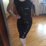 Платье, пайетки. Фото 2.