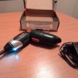 Аккумуляторная отвертка hammer flex acd 4.8a. Фото 1.