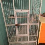Клетка для большого попугая. Фото 1.